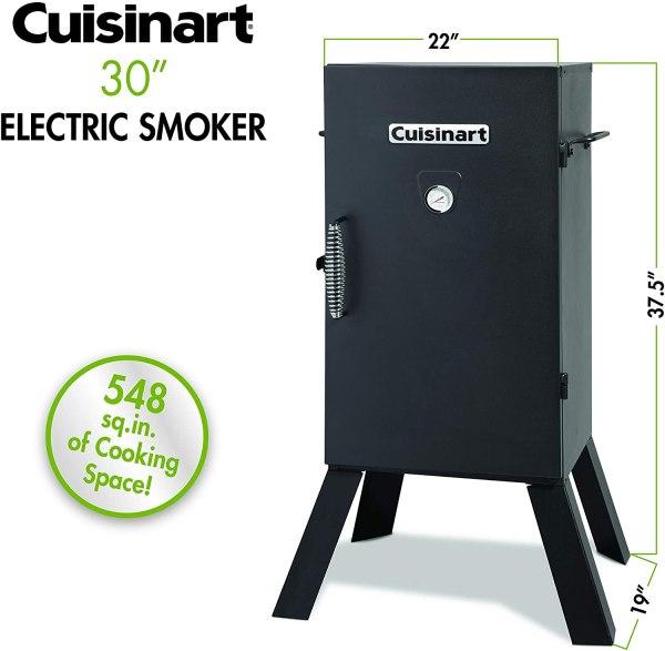 CUISINART COS-330 Fumador, 30 elétrico .