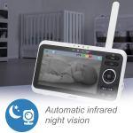 VTech VM350 monitor de vídeo para bebês a