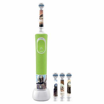 Escova de dentes elétrica recarregável Disney Oral-B Kids Star Wars.,