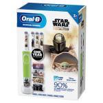 Escova de dentes elétrica recarregável Disney Oral-B Kids Star Wars