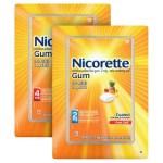Nicorette Quit Smoking Aid 2mg. ou 4mg. Goma gelada de frutas – 200 peças