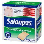 Salonpas Patch de alívio da dor – 140 adesivos