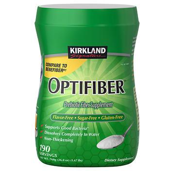 Suplemento de fibra natural Kirkland Signature OPTIFIBER –