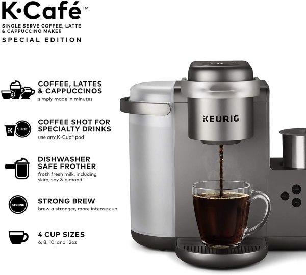 Cafeteira Keurig K-café Prata- 110v.