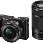 Câmera Sony Alpha A6000 Com Lentes 16-50 Mm E 55-210 Mm
