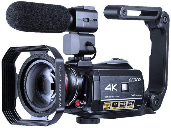 Câmera de vídeo Filamadora Ordro HDR-AC3 4K NTSC-PAL preta