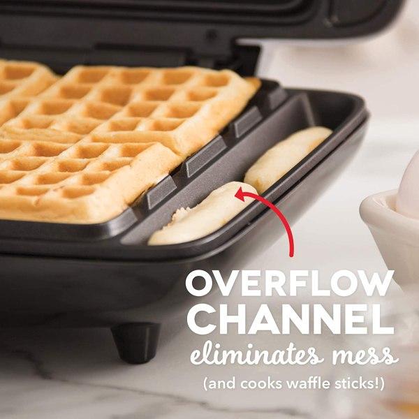 Maquina de waffle DASH DNMWM455SL – 110v.