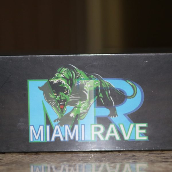 Miami Rave 7pipe twisty glass blunt . Take it everywhere!