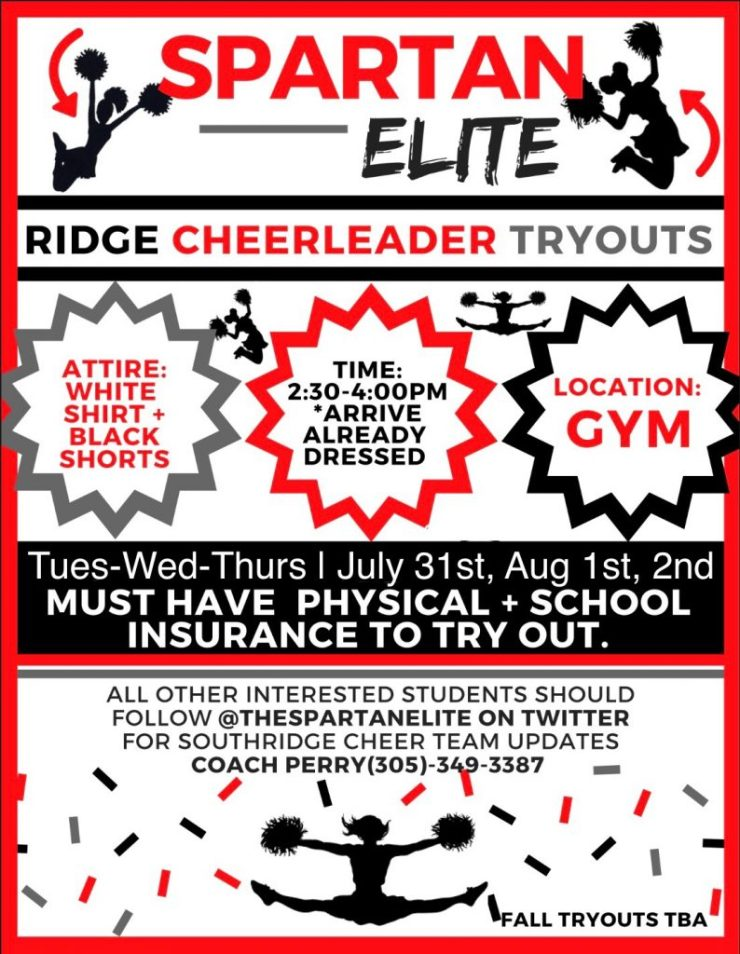 Cheerleader Tryout