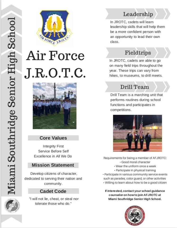 JROTC Info Flyer