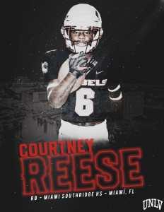 Southridge Football Courtney Reese