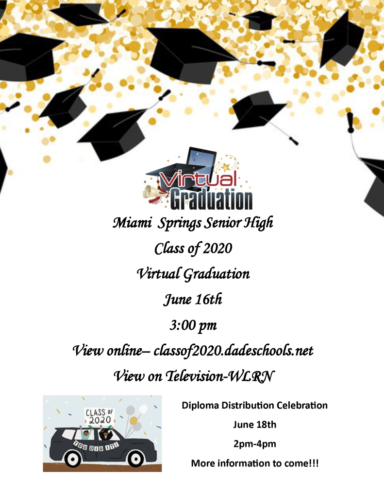 Diploma Distribution Event Flyer