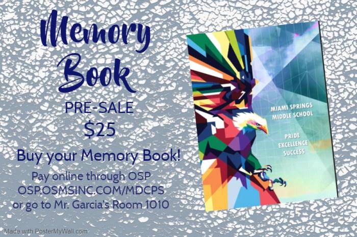 2020 Memory Book flyer