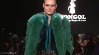 Mongol at New York Fashion Week