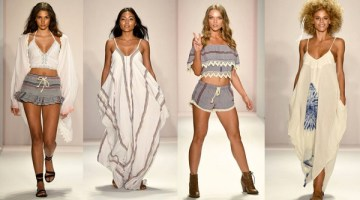Beach Freedom Glides Gorgeously Down the Runway at SWIMMIAMI