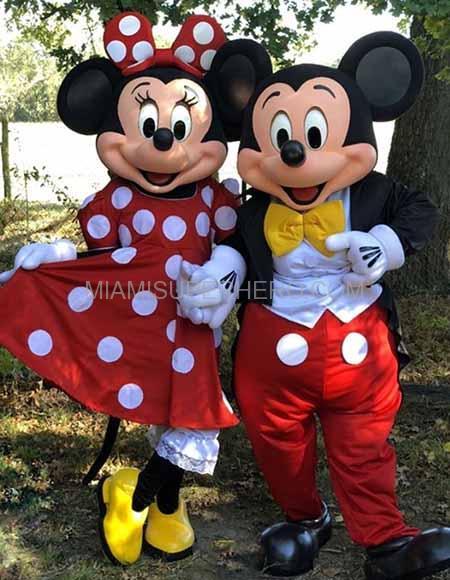 Mickey Mouse Character Miami Superhero