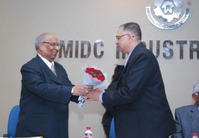 MIDC Industries Association Foundation Day - Capt. Chandramohan Randhir