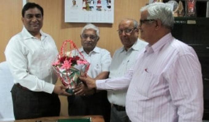 MSME-DI Director Felicitation