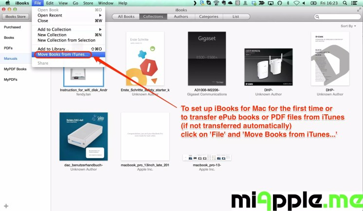 Fixing iBooks Not Syncing PDF Files And ePub Books On Mac, iPad And
