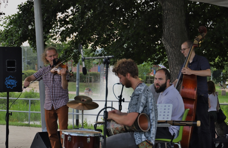 Irlandzkie rytmy w redzkim  Miejskim Parku Rodzinnym
