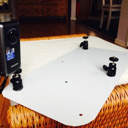 Uusi teline kameroille