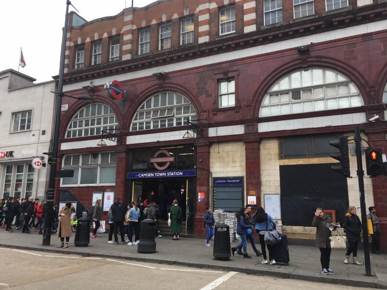Undergrouns Station (Camden Town)