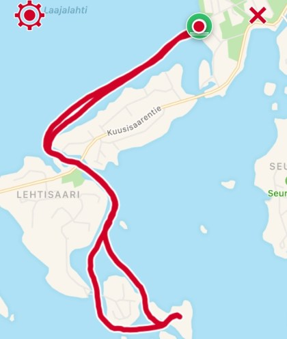 Reitti 7,38 km