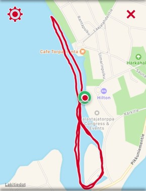 Reitti 3,11 km