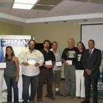 DRNA y NOAA entregan premios del USCRTF a organizaciones por su excelente labor comunitaria