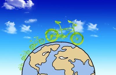 Si tienes la oportunidad de llegar a tu trabajo o lugar de  interés en bicicleta, sería una excelente opción. (ilustración por Sujin Jetkasettakorn de FreeDigitalPhotos.net)