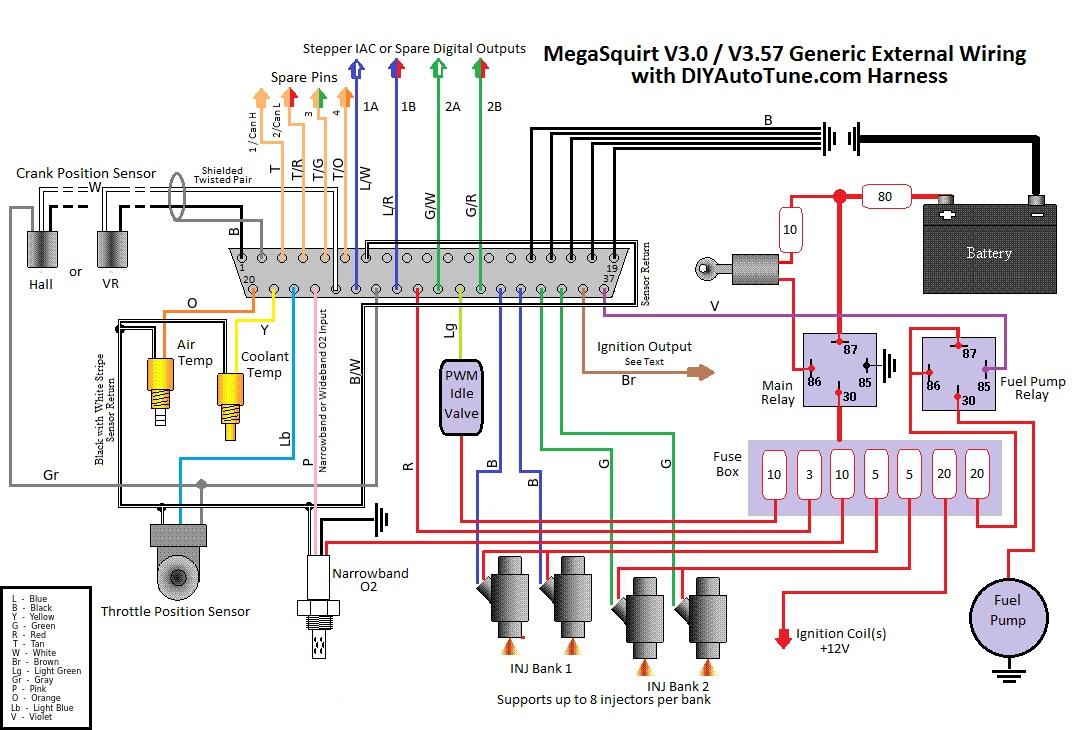 MS3 Crank Position Sensor Wiring