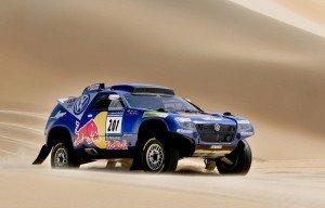 Touareg en el Rally de Dakar