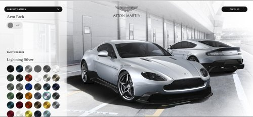 aston martin screenshot
