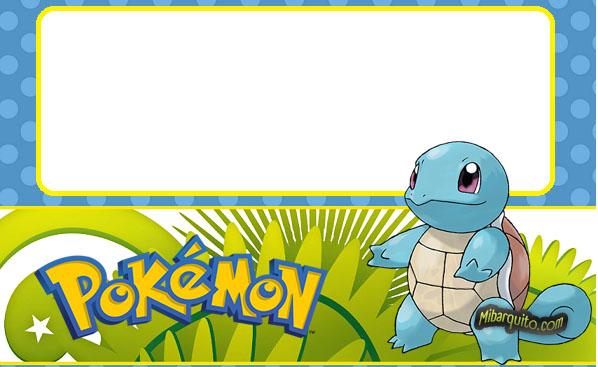 Imprimibles De Pokemon Para Decoracin Descarga Gratis