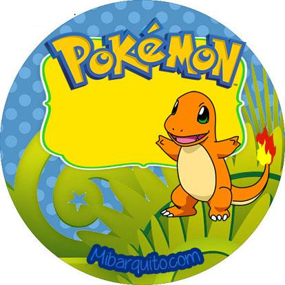 candy bar pokemon - stickers pokemon personajes - imprimibles cumpleaños pokemon descargar