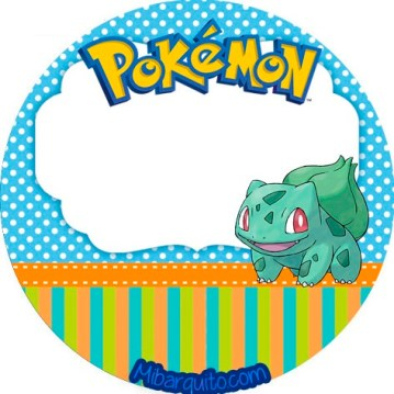 stickers redondos pokemon - imprimibles gratis pokemon