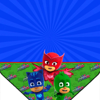 Kit imprimible De PJ MASKS descarga gratis