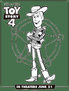 Toy-Story-4-Dibujos-para-colorear-Woody