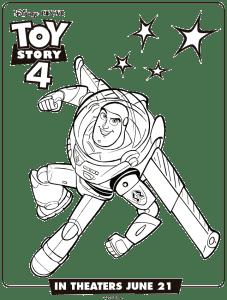 Toy-Story-4-buzz-Lightyaer-colorear-dibujos