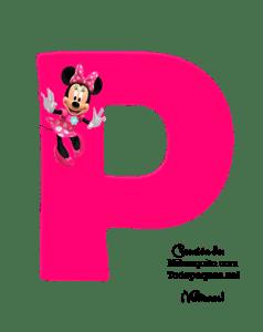 Minnie Alphabet Letters