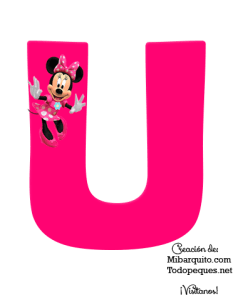 Minnie Alphabet Letters