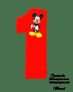 NUMEROS DE MICKEY 1 - MIICKEY NUMBERS