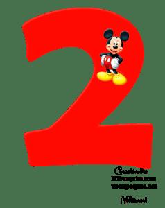 NUMEROS DE MICKEY 2 - MICKEY NUMBERS