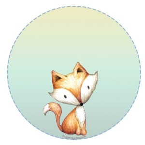 Animalitos bosque Cute stickers