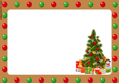 Imprimir tarjetitas navidenas