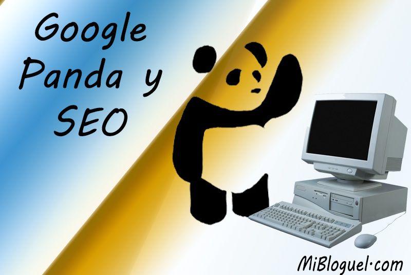 Google Panda y SEO - Consejos para nuestra web