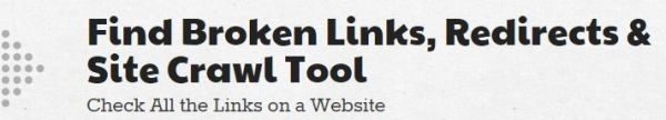 Find Broken Links