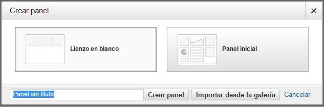 Nuevo panel en Google Analytics