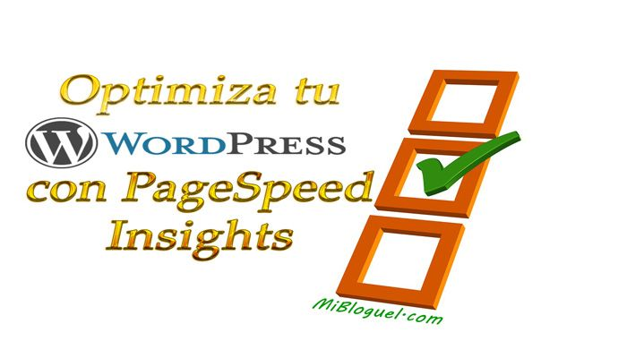 Tu WordPress con PageSpeed Insights