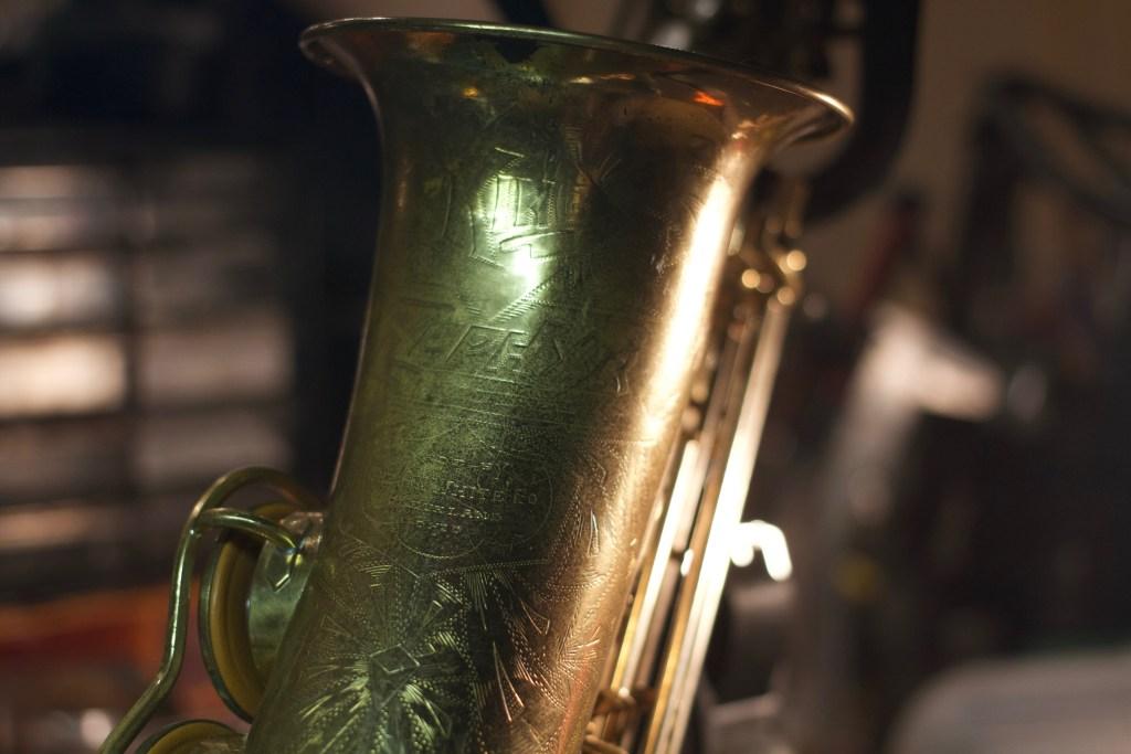 1938 King Zephyr Alto Saxophone